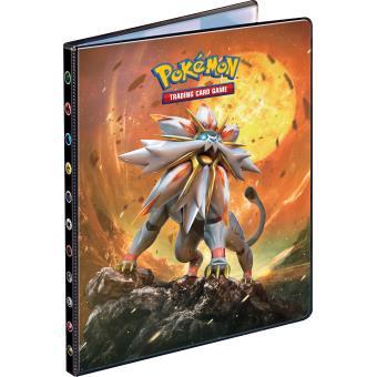 cahier range carte pokemon Cahier range cartes SL01 Lune et Soleil SL01 Pokémon 180 cartes