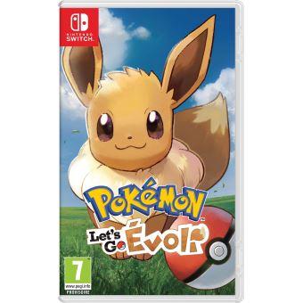 Pokémon Let's Go Evoli Nintendo Switch