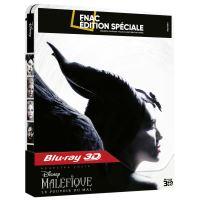 Maléfique : Le Pouvoir du Mal Steelbook Edition Spéciale Fnac Blu-ray 3D