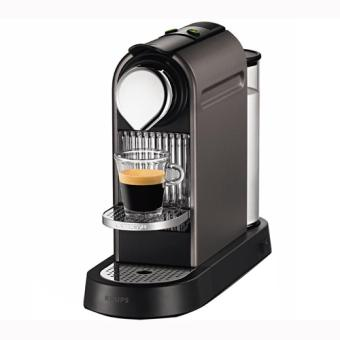 cafeti re krups nespresso yy1470fd citiz titane achat prix fnac. Black Bedroom Furniture Sets. Home Design Ideas