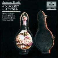 6 Concertos pour hautbois 'La cetra'