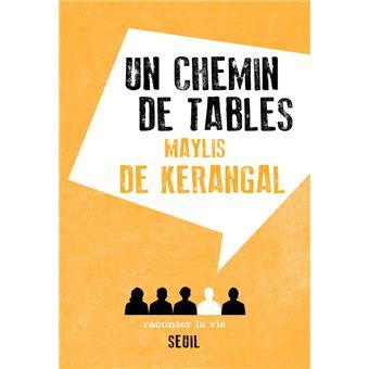 Un chemin de tables broch maylis de kerangal achat - Un chemin de table ...