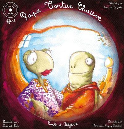 Papa tortue chauve - Livre + CD