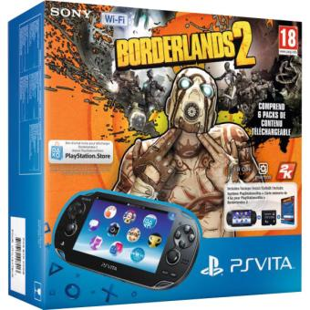Console PS Vita WiFi Sony + Borderlands 2 + Carte Mémoire 4