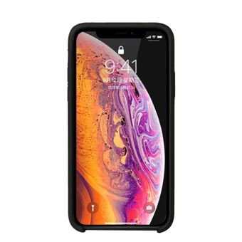 B2B Cover Liquid Silicone Black iPhone XR