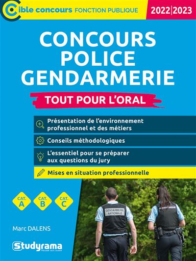 Concours Police Gendarmerie Défense 2020-2021
