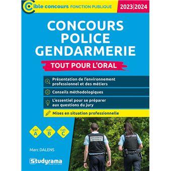 Concours police gendarmerie defense