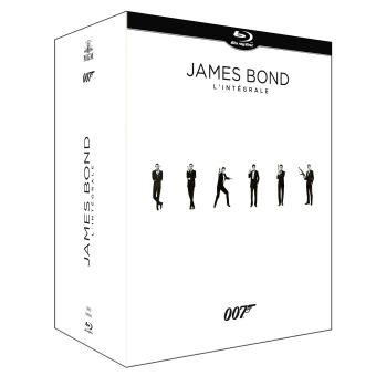 James BondCoffret James Bond 24 films Blu-ray