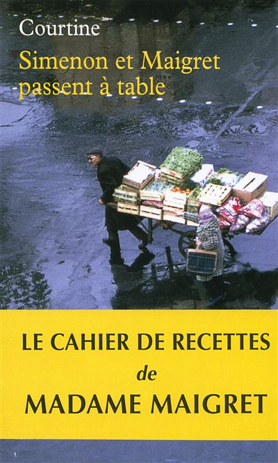 Simenon et Maigret passent a table