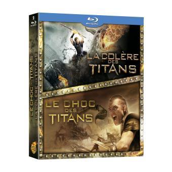 Le choc des Titans - La colère des Titans - Coffret Blu-Ray