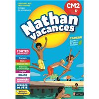 Cahier de Vacances Primaire CM2 vers 6ème 10/11 ans
