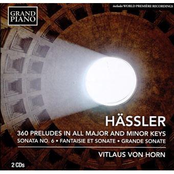 360 preludes dans tous les tons majeurs et mineurs op 47/son