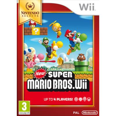 New Super Mario Bros Edition Selects Wii