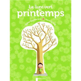 Le livre vert du printemps cartonn sophie - Livre maternelle gratuit ...