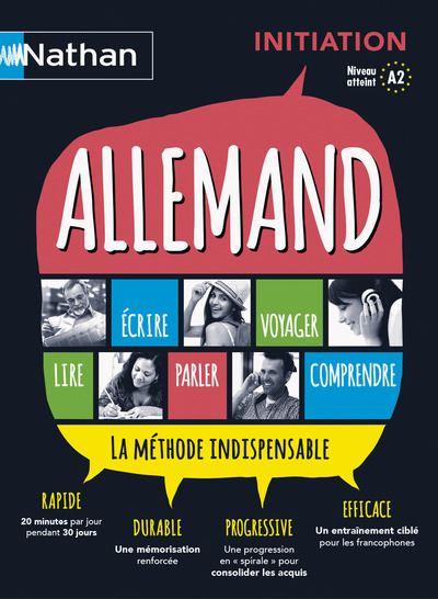 Allemand - Coffret Initiation Voie express initiation Livre + CD audio