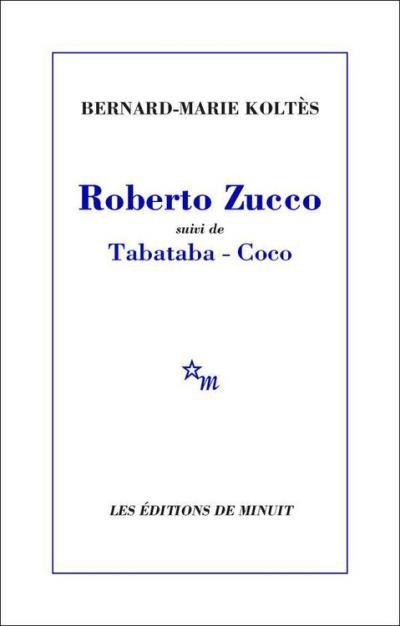 Roberto Zucco, suivi de Tabataba – Coco - 9782707330864 - 7,49 €