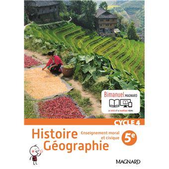 Histoire Geographie Emc 5eme Cycle 4 Bimanuel