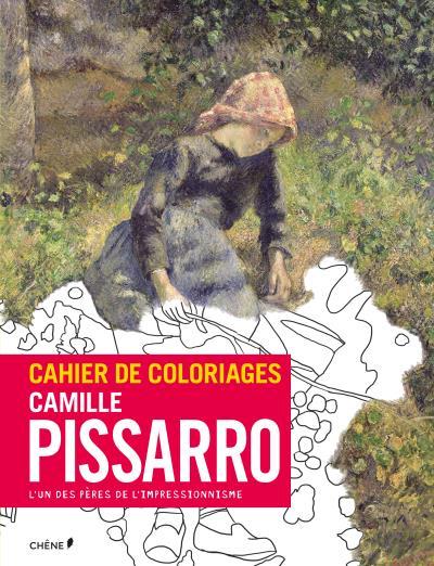 Cahier de coloriages Pissaro et la nature