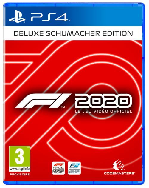 F1 2020 Deluxe Schumacher Edition PS4