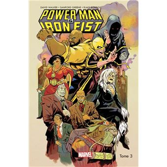 Power Man et Iron FistAll-new All-different