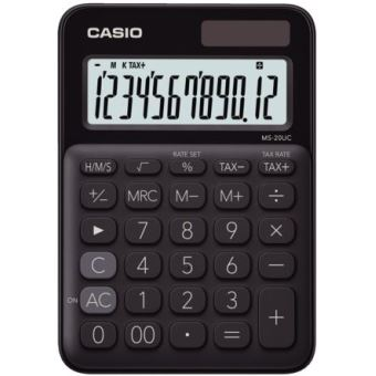 Casio ms-20UC-BK-S-EC Zwart