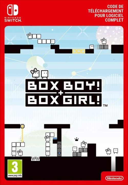 Code de téléchargement BOXBOY ! + BOXGIRL !  Nintendo Switch