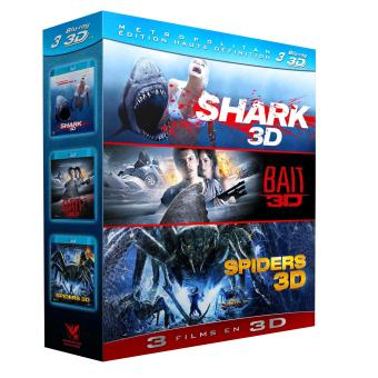 Shark - Bait - Spiders - Coffret Blu-Ray 3D