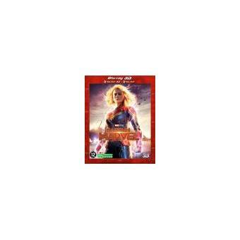 Captain MarvelCaptain Marvel Steelbook Blu-ray 3D