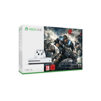 Console Microsoft Xbox One S 1 To + Gears of War 4