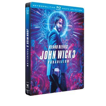 John WickJohn Wick 3 Parabellum Steelbook Edition Limitée Blu-ray