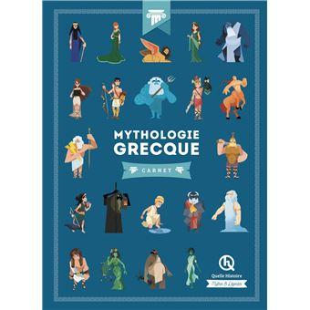 Mythologie Grecque Carnet Broche Collectif Achat Livre Fnac