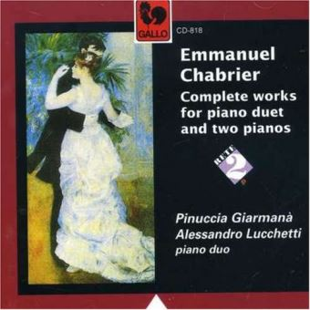 Complete works for 2 pianos andpiano four hands