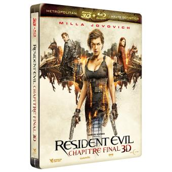 Resident EvilResident Evil 6 : The Final Chapter Steelbook Blu-ray 3D + 2D