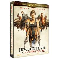 Resident Evil 6 : The Final Chapter Steelbook Blu-ray 3D + 2D