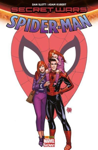 Secret Wars - Spider-Man - Renouveler ses voeux - 9782809468243 - 9,99 €