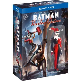 Batman animated seriesBatman and Harley Quinn Edition limitée Combo Blu-ray DVD