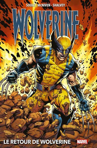 Wolverine : Le retour de Wolverine (2018) - 9782809494440 - 16,99 €