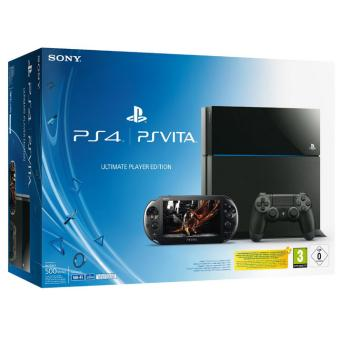 Console Sony Playstation 4 + PS Vita - PS4