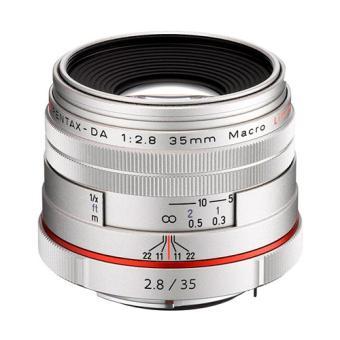 Pentax HD 35 mm f/2.8 Macro AL Limited Reflex Lens Zilver