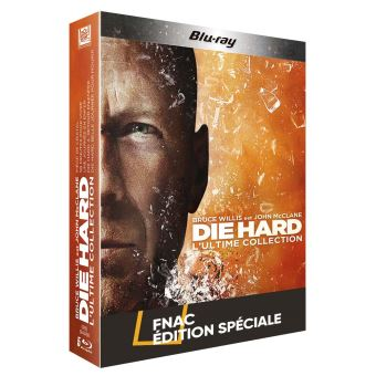Die hardDie Hard - Coffret intégral 5 Films -  Blu-Ray - Edition Spéciale Fnac
