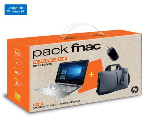 264 66 Sur Pack Fnac Pc Portable Hp Pavilion Notebook 15 P224nf 15 6