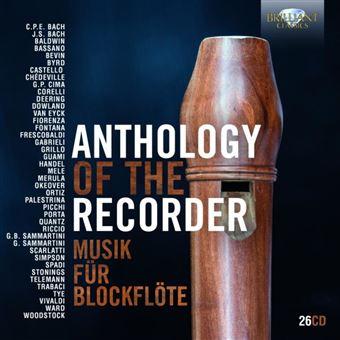 ANTHOLOGY OF THE RECORDER/BOX
