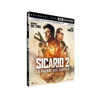 SicarioSicario 2 La Guerre des Cartels Combo Blu-ray 4K Ultra HD