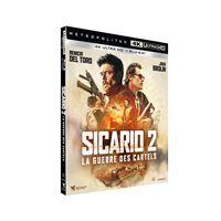Sicario 2 La Guerre des Cartels Combo Blu-ray 4K Ultra HD