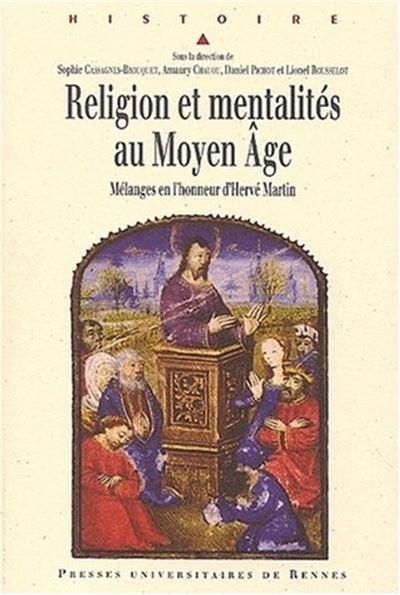 Religion et mentalites au moyen age