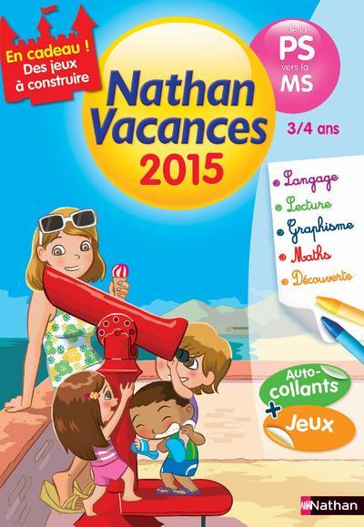 Nathan Vacances de la Maternelle petite section vers la Maternelle moyenne section