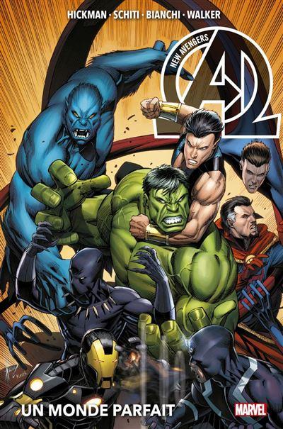 New Avengers (2013) T02 - Un monde parfait - 9782809494679 - 20,99 €
