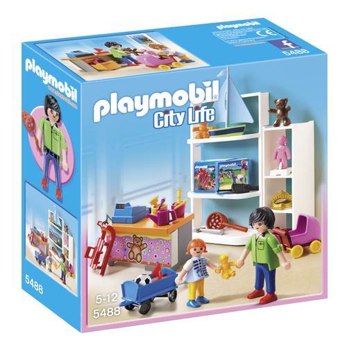 Playmobil 5488 City Life Magasin de jouets - Playmobil - Achat ...