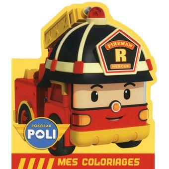 20 sur robocar poli robocar poli roy mes coloriages - Robocar poli pompier ...