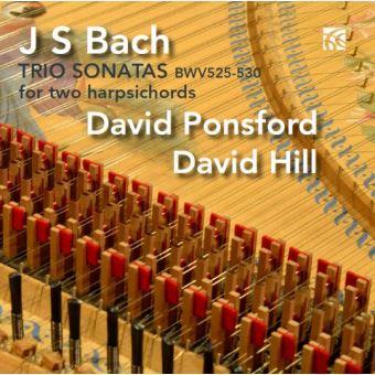 Sonates en trio BWV 525 530 pour deux clavecins